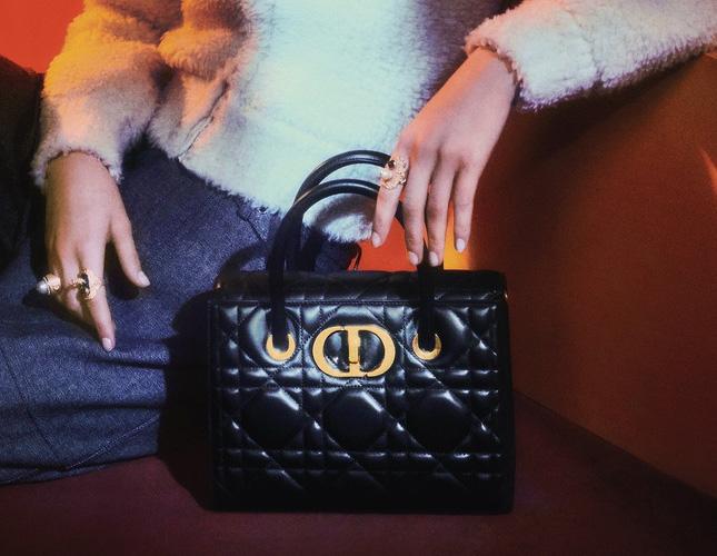 Dior Macro Cannage Honore Bag