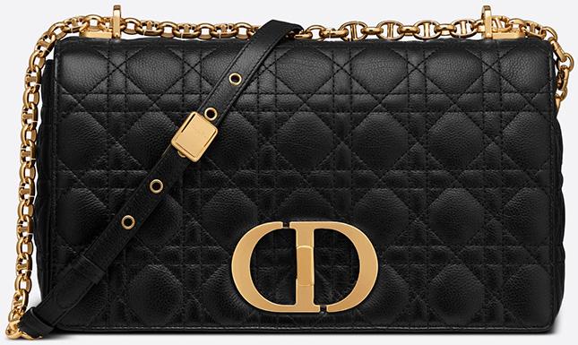 Dior Macro Cannage Leather