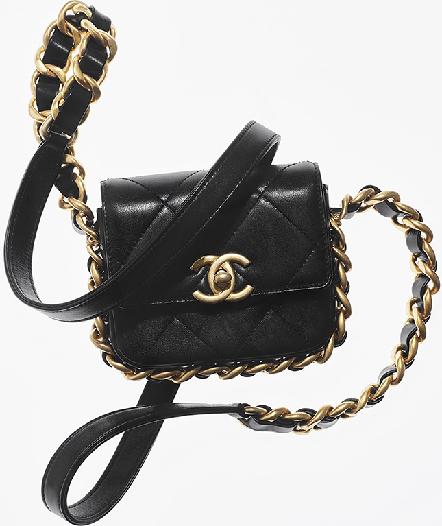 Chanel Large Chain Around Bag From Fall Winter Collection Act