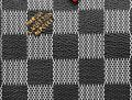 Louis Vuitton Black White Damier Canvas